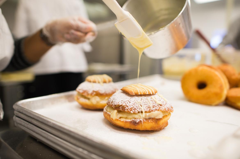 Sugar's Southern Banana Pudding Donut