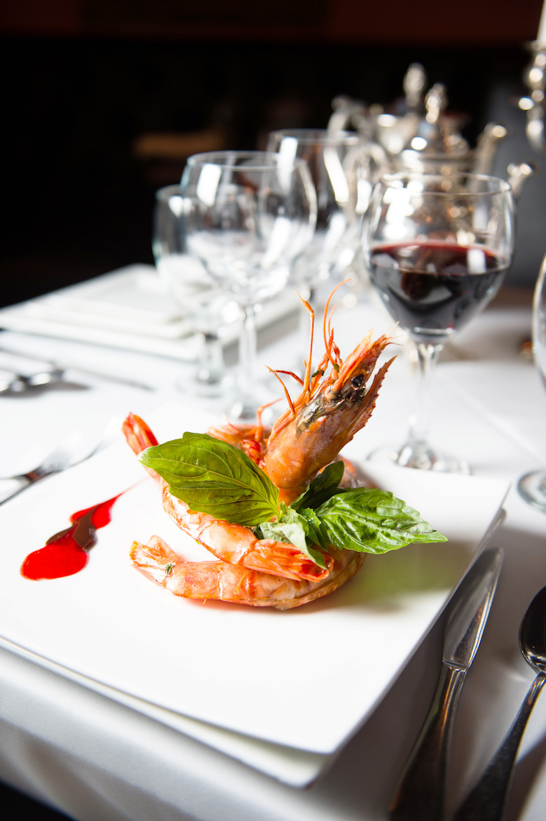 Caruso's South African Prawns