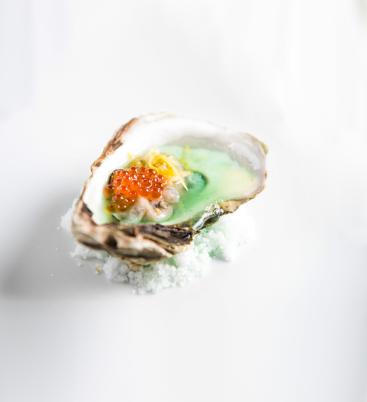 Fig Tree's Trout Roe Oyster