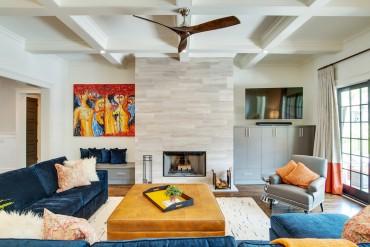Grandfather Homes Living Room