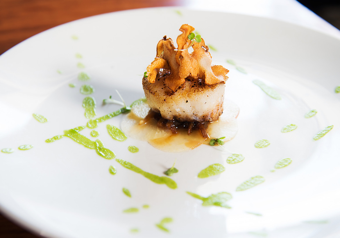 Heritage Food & Drink's Seared Scallop