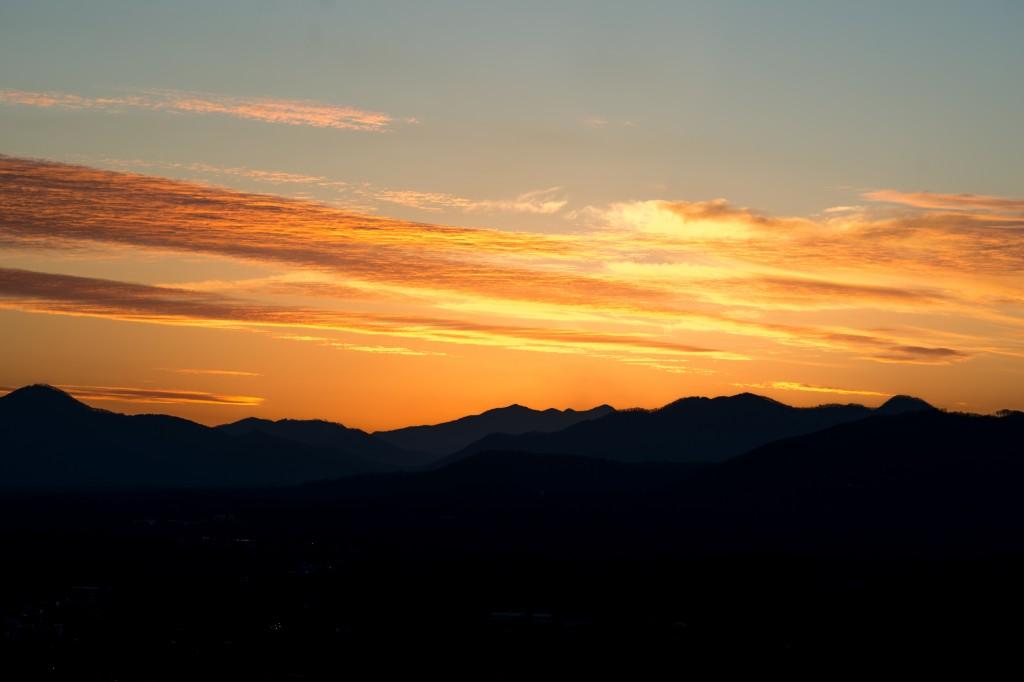 fall in asheville