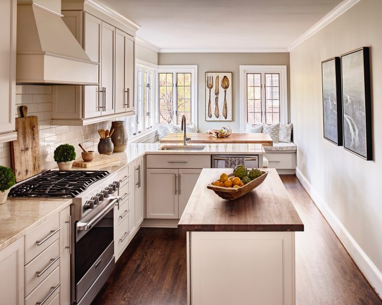 A Cozy Kitchen, Updated - QC Exclusive