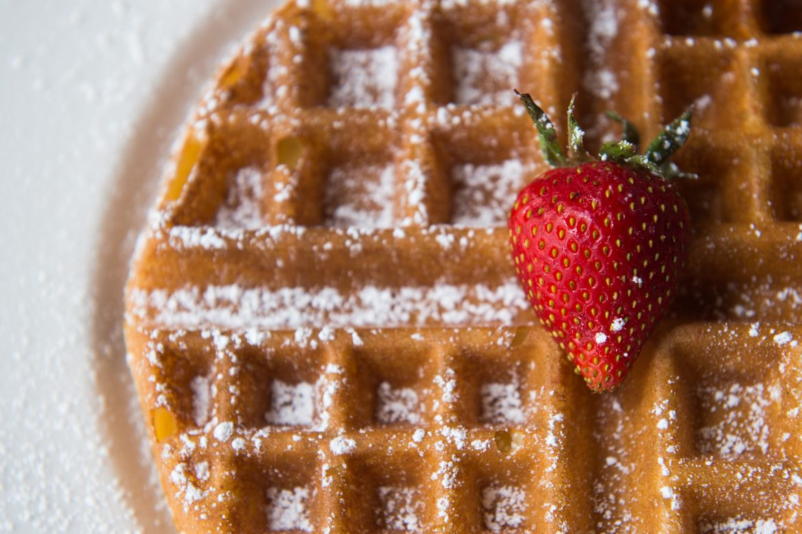 The Belgian Waffle Gets A French Twist At Cafe Monte