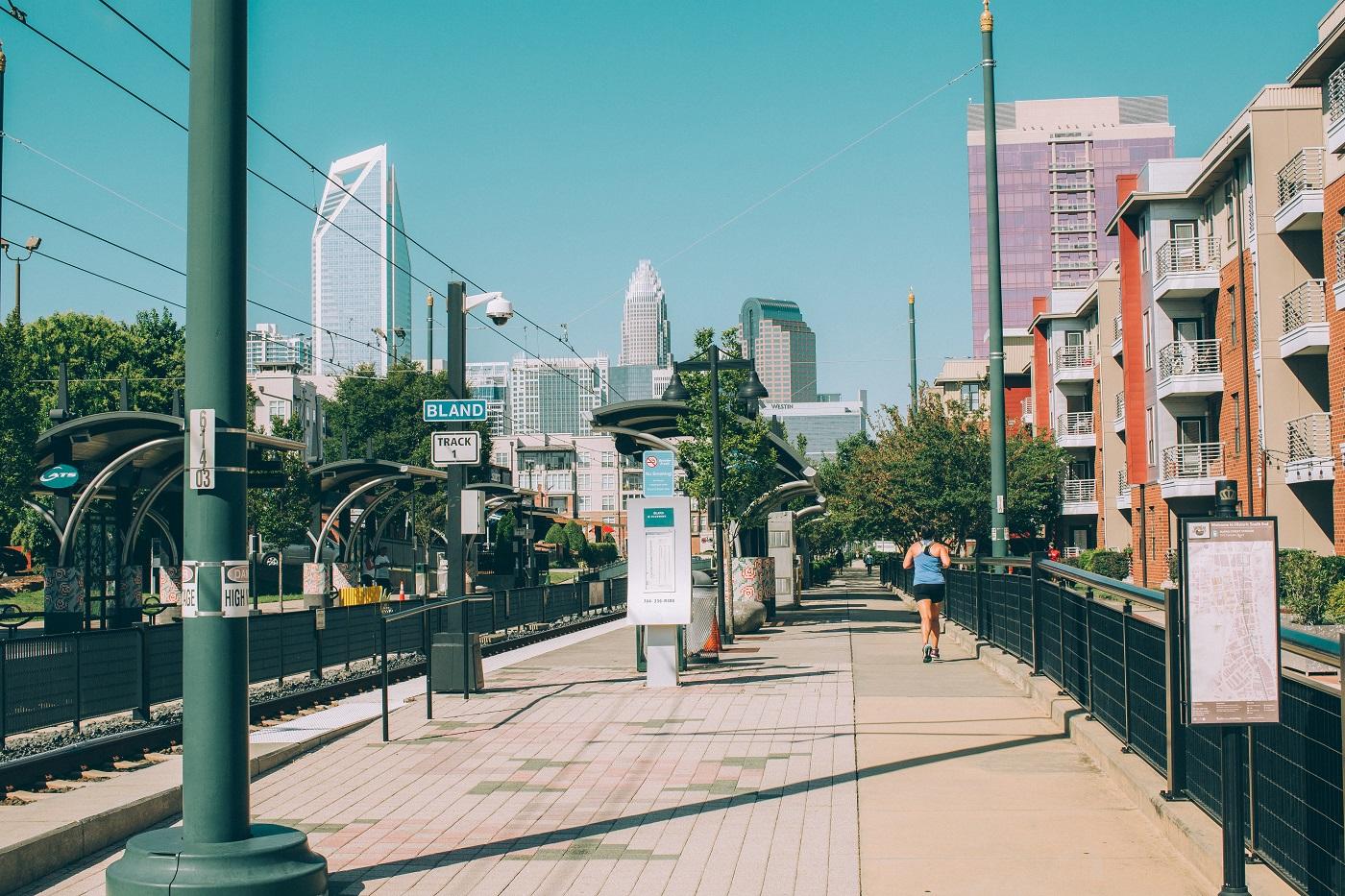 summer in Charlotte