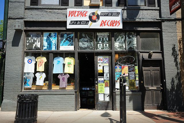 Records Stores NC