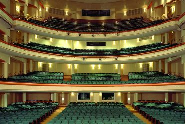 The Blumenthal Theater in Charlotte