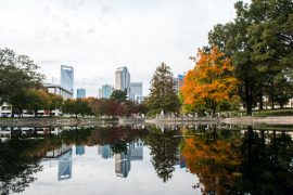 fall in Charlotte