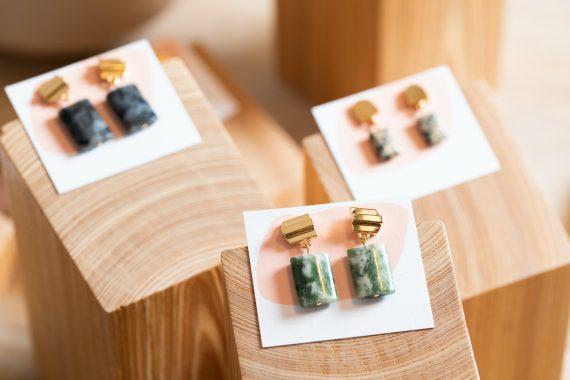 earrings from Vue by Sek