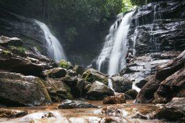 western nc waterfall