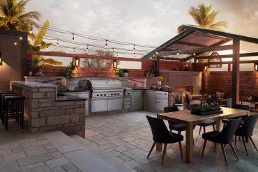 sub-zero outdoor kitchen